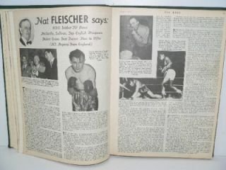 The Ring Vintage Boxing Magazine July to December 1953