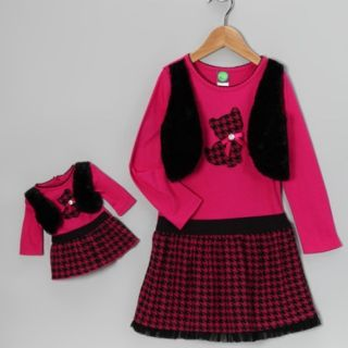 Dollie & Me sz 8 Matching Dress Fits American Girl Doll and 18 Dolls