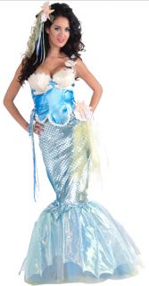 Adult Fairy Tale Mermaid Halloween Holiday Costume Party x Small 2 6