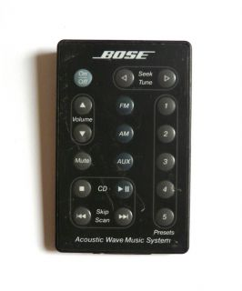 Bose Acoustic Wave Music System Remote Control Black