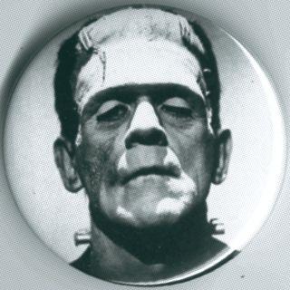 Frankenstein Monster Boris Karloff 1 Pin Button Badge Magnet Horror