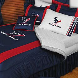 New NFL Houston Texans Full Queen Bedding Comforter Set