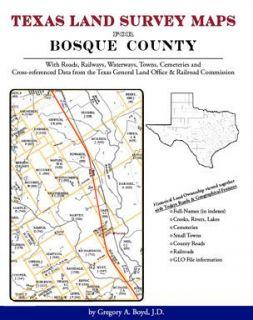 Genealogy Family Maps Cemeteries Bosque Co Texas TX