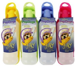 Portable Pet Dog Travel Water Bottle Dispenser Bowl