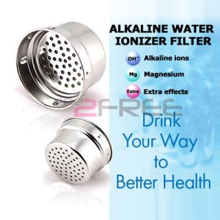 Power Healing Alkaline Water Purifier Ph Ionizer Portable Filter