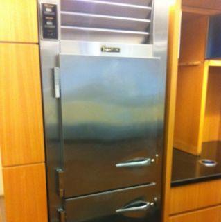Traulsen Single Section Half Door Refrigerator Freezer Combination
