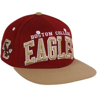 Zephyr Boston College Eagles Superstar Snapback Hat   Maroon