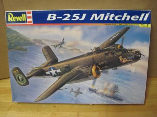 Revell B 25J Mitchell WWII Bomber 1 48 Scale Airplane Model Kit