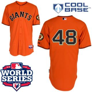 Brand New Pablo Sandoval #48 San Francisco Giants Jersey Sewn on Size