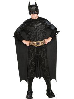 Boys Batman Dark Knight Rises Film Childs Kids Costume Superhero