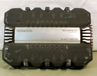 Kenwood KAC 6202 Car Power Amplifier Stereo Bridgeable