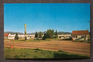 1960s Old Cars Mountain View Motel Bozeman MT Gallatin