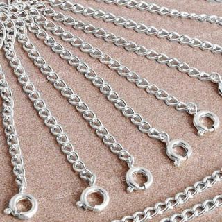 20 Silver Plated Necklace Jewelry Chain Extender 0 24 FASHION