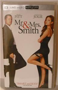 UMD Video for PSP Mr Mrs Smith Brad Pitt Angelina Jolie