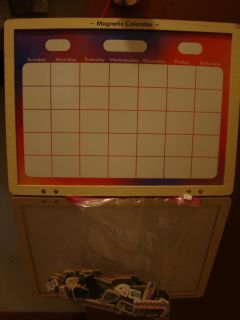 Melissa and Doug Magnetic Calendar and Dry Erase Board with Magnetic