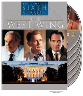 The West Wing Complete Sixth 6th Season 6 Six DVD