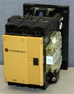 Allen Bradley A B 100 A60N 3 60 Amp Contactor 60 Amps