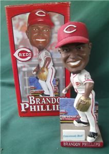 2009 Brandon Phillips MLB Cincinnati Reds Bobblehead SGA Baseball