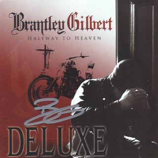 Autographed BRANTLEY GILBERT Halfway to Heaven DELUXE CD Signed