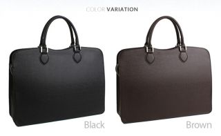Fashion]Mens Leather Laptop Briefcases Tote Shoulder Cross Body Bags