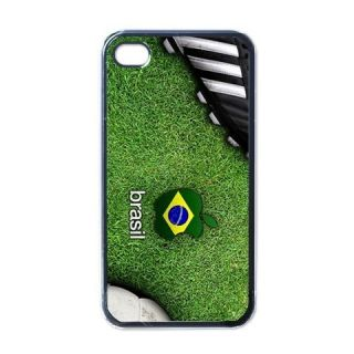 Brazil Soccer iPhone 4 Hard Case Cover