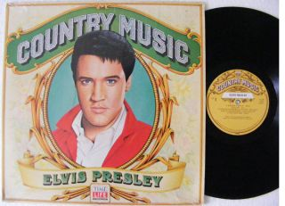 Elvis Presley Country Music Time Life USA LP NM NM