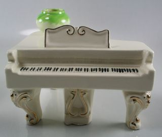 Brayton Laguna California Pottery Piano Player Singer Group RARE