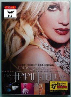 Britney Spears   Chinese The Femme Fatale Live Concert Tour DVD Scream