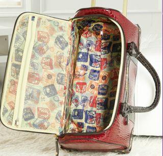 Samantha Brown Weekender City Bag Luggage Suitcase Roller Wheeled