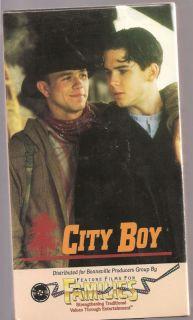 City Boy VHS James Brolin Wendel Meldrum Sarah Chalke 745751007235