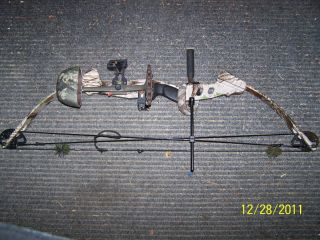 Browning Boss Heat compound bow 60#/30/x ring/tigertuff/archerschoice