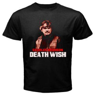 New Charles Bronson Death Wish Movie T Shirt