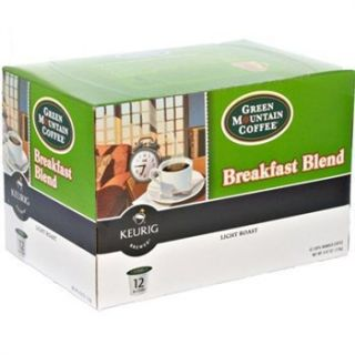 Green Mountain Breakfast Blend Coffee 96 count Keurig K Cups, Factory
