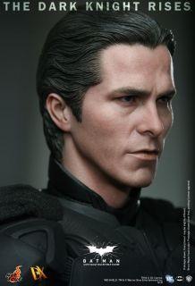 Batman Dark Knight Rises Batman Bruce Wayne Bale DX 12 1 6 New