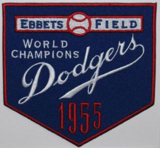 Brooklyn Dodgers 1955 World Series Patch MLB Baseball