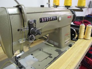 Broher Double Needle Indusrial Sewing Machine