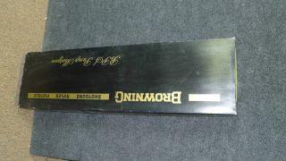 Browning BPS 20 Gauge 20 Ga Shotgun Shot Gun Box Case Browing Pump