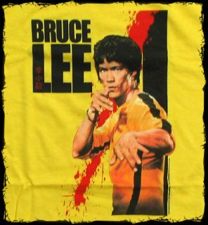 Bruce Lee Kill Bill Style T Shirt Official Fast SHIP