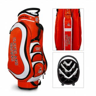 Authentic NFL Cleveland Browns Team Golf Medalist Golf Cart Bag Bonus