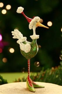 Patience Brewster Mini Angela The Goose Ornament (08 30575SE)