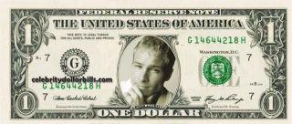 Backstreet Boys Brian Littrell Celebrity Dollar Bill Uncirculated Mint