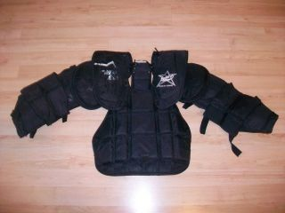 BRIANS Jr M Youth Ice Hockey Goalie Chest & Arm Pads Protective Gear