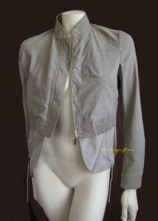 Brunello Cucinelli Heathered Virgin Wool Zip Jacket
