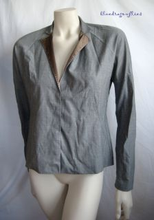 Brunello Cucinelli Lightweight Gray Wool Jacket