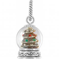 Brighton Snow Globe Charm Bead Very Limited Christmas