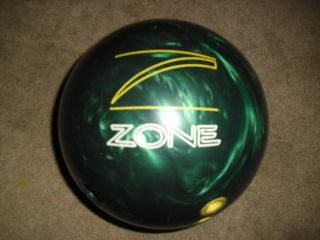 Brunswick Attack Zone Green Pearl 12 lb Pound Bowling Ball