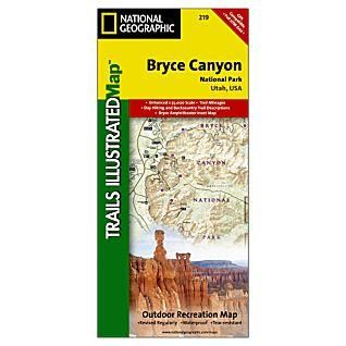 Bryce Canyon Trails Illustrated Map National Geographic