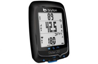 NEW Bryton Rider 20E GPS Bike Cycling Computer Odometer  No Speed
