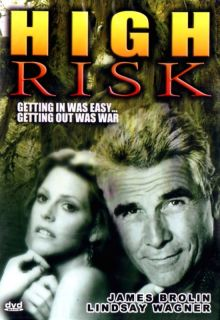 High Risk DVD 2003 James Brolin Lindsay Wagner