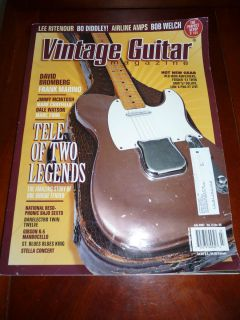 Guitar Magazine July 2007 David Bromberg Frank Marino Airline Amps K 5